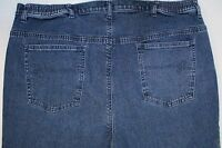 Liz & Me Signature Capri Jeans Plus Women's Size 4 Medium Wash Denim