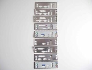 I/O Shield Back Plate Gap then 3 Vertical Sound Ports Far Right