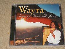 WAYRA SONGS OF PEACE AND LOVE CD RARE OOP USED NATIVE AMERICAN