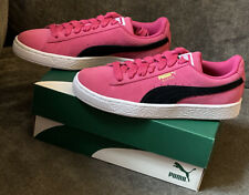Authentic Puma Suede Trainers pink size 4