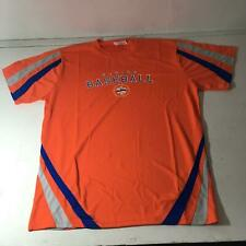 Brooklyn Cyclones Baseball Orange Dri-Fit Shirt Size XL