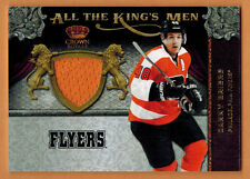 2011-12 , PANINI , CROWN ROYALE , DANIEL BRIERE , CARD #13 , ALL THE KINGS MEN