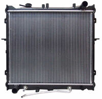 2057 Aluminum Radiator For 1995-2002 Kia Sportage 2.0 L4 96 1997 1998 1999 2000