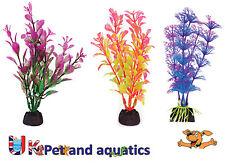 """ACQUARIO Plastica Piante 4"""" Penn Plax, confezione da 6 colori assortiti"""