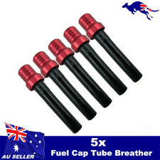 5Pcs Fuel Gas Tank Cap Air Vent Tube Breather Pit Dirt Bike Off Road Motorcycle