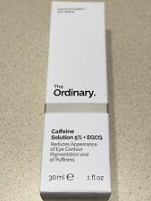 The Ordinary Caffeine Solution 5% + Egcg Full Size 30ml/1oz Nib