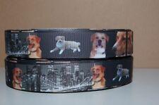 4073 Verschiedene Hunde Strechband 15mm Breite Ripsband Webband Borte