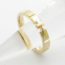 RR2036 Rosary Ring 14K 18K Solid Gold Cross ロサリオ リング