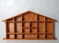 étagère maison à bibelots 57x30cm design scandinave Vintage