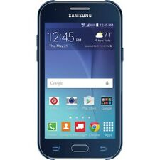 "New Verizon Samsung J1 Prepaid Smartphone Blue 5MP Camera Wide 4.3"" WVGA  Displa"