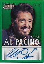 2015 Panini Americana AL PACINO auto signed card Green 06/25