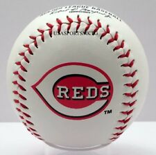 Rawlings Cincinnati Reds Team Logo Manfred MLB Baseball Autograph