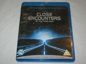 Close Encounters Of The Third Kind - 2 Disc - VGC - Region A, B, C - Blu Ray