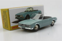 Sky Blue Atlas  Dinky toys 1:43 Cabriolet 504 Peugeot Alloy car model Roadster