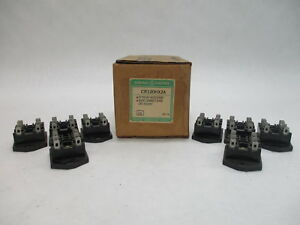 (Lot of 8) GE CR120HX2A Back Connect 8-Pin General Purpose Relay Accessory