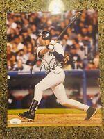 Derek Jeter Signed Autograph 8x10 JSA COA