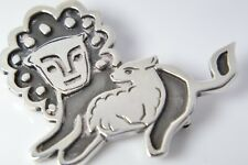 Lion And The Lamb Brooch Pin New listing