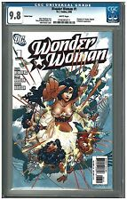 WONDER WOMAN #1 CGC 9.8 (8/06) DC variant white pages