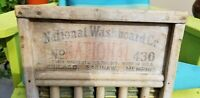 Antique National Washboard #430