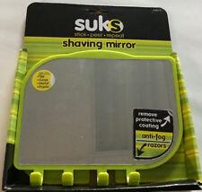 College Dorm Room Anti-Fog Shaving Mirror Stick ,Peel, Repeat Reusable by Dorman