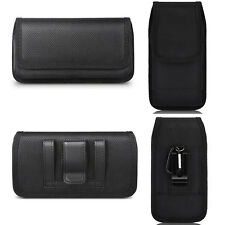 BELT CLIP LOOPS CELL PHONE HORIZONTAL VERTICAL POUCH HOLSTER CASE COVER BLACK US