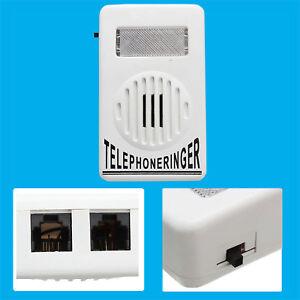 95dB BT Telephone Visual Flashing Light Alert & Audio High / Low Volume Ringer