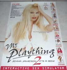 JENNA JAMESON Rare MY PLAYTHING 2 Poster! MINT!