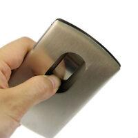 Wallet Business Stainless Steel Name Credit ID Card Holder Pocket Case  JX