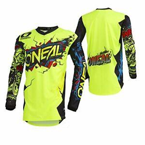 O'Neal 002E-904 Unisex-Child Youth Element Jersey VILLAIN Neon Yellow Large