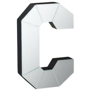 Pretty Mirrored Letter - C For Home Décor.
