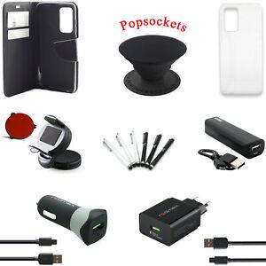 17 teiliges Huawei P40 Pro Zubehör Set Paket Tasche Charger Halterung Powerbank