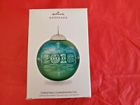 Hallmark 2018 Christmas Commemorative Keepsake Ornament