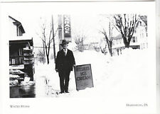 "*Postcard-""Snow Storm/1928"" (Man holds Ice Cream Sign)-*Harrisburg, PA. (#209)"