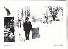 "*Postcard-""Snow Storm/1928"" (Man holds Ice Cream Sign) *Harrisburg, PA. (#209)"