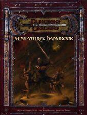 MINIATURES HANDBOOK NM! Dungeons Dragons D&D TSR Player's Handbook DMG Guide