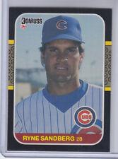 1987 Donruss Card #77 Ryne Sandberg Cubs   **