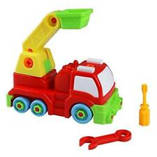 Take Apart Car Rescue Truck Toys Assembly Car Toy Plastic Model Vehicle For Boy