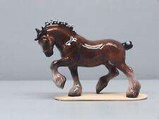 Hagen Renaker Clydesdale Horse Blue Bobs