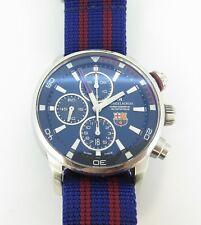 Auth MAURICE LACROIX Pontos S FC Barcelona PT6008 Men's 7750 Auto Watch $1 N/R
