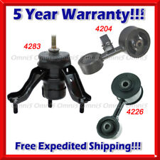 Trans Mount Set 3PCS MANUAL A527 For 92-01 CAMRY 2.2L USA BUILT Front Rear