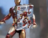 Disney Marvels Avengers LEGO Ironman-148pc Hulk buster Iron Man LEGO - Kids Toys