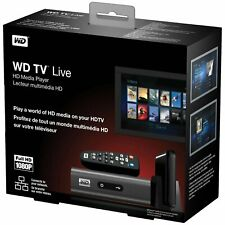 New / Sealed Western Digital WD TV Live Full HD Media Player WDBAAN0000NBK-NESN