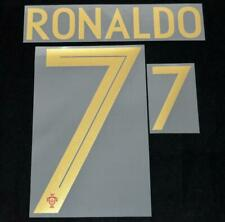 Portugal Ronaldo world cup 2018 Football Shirt Name/Number Set Home Player Size