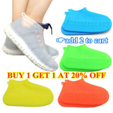 Waterproof Silicone Shoe Cover Outdoor Rainproof Hiking Skid-proof Shoe Covers C