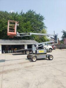 Skyjack SJLB32 Drivable 32' Boom Lift 2 Wheel Drive