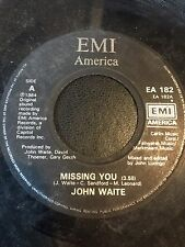 "john waite missing you 7"" vinyl ea182 1984 ref942"
