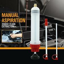 200cc Car Oil Fluid Extractor Filling Syringe Bottle Transfer Pump Hand Tool