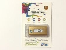 256GB Storage USB i-Flash Drive OTG Memory for iPhone 5 6 6S 7 Plus iPad Android