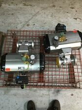 """Ball Valve 1.5"""" 600 Flanged W/ Automax B200C10H Actuator, + Fisher + Asco"""