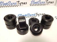 8 urethan rear  tires slot car Garvic 1/24 US